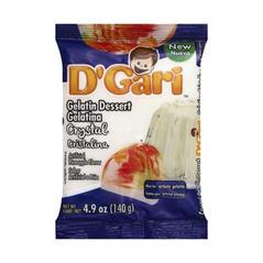 D'Gari Crystal Gelatin Powder