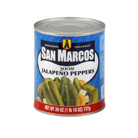 San Marcos Sliced Jalapenos