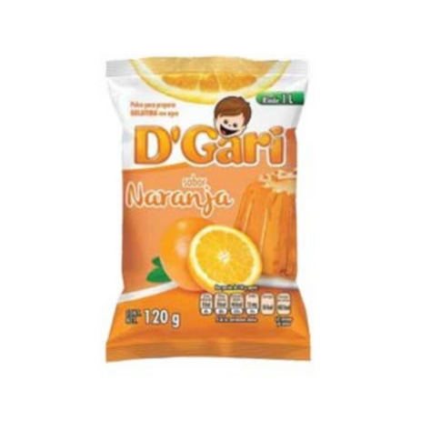 D'Gari Orange Gelatin  Powder