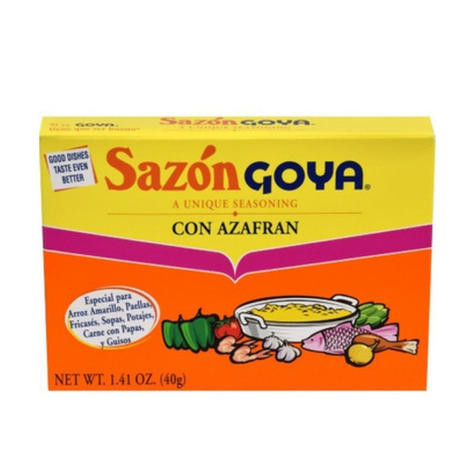 Goya Sazonador with Saffron