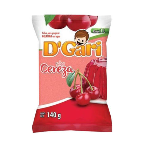 D'Gari Cherry Gelatin Powder