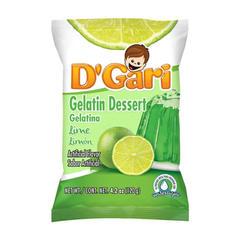 D'Gari Lime Gelatin Powder