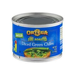 Ortega Diced Green Chiles