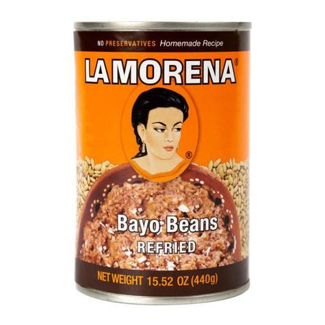 La Morena Refried Bayo Beans