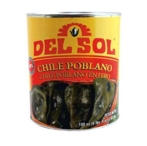 Del Sol Poblano Pepper