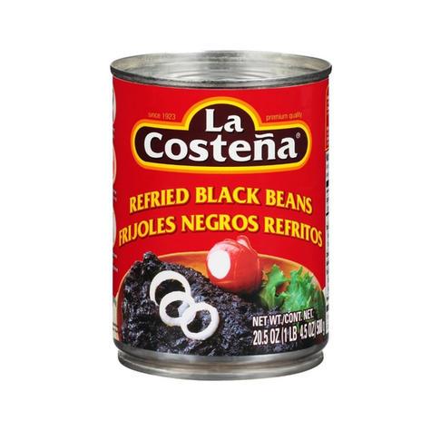 La Costena Black Refried Beans