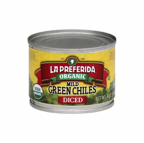 La Preferida Organic Diced Green Chiles