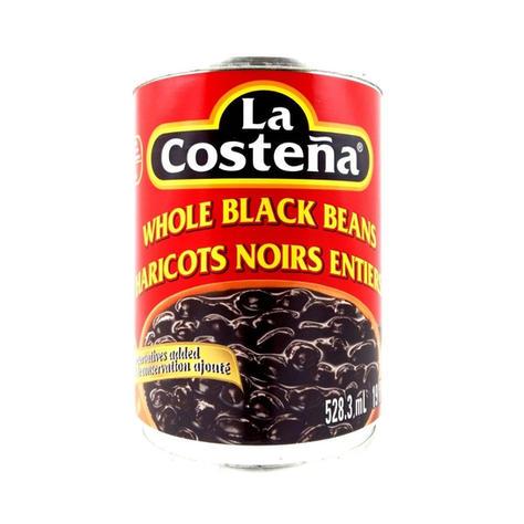 La Costena Whole Black Bean