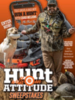 2020 Hunt with an Attitude Sweepstakes.j
