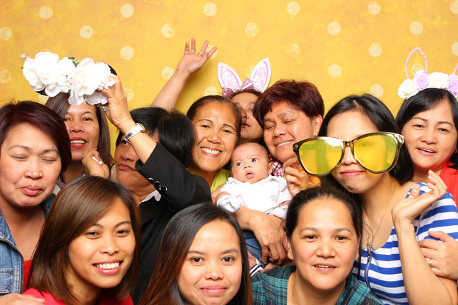 photo booth rental in richmond big group