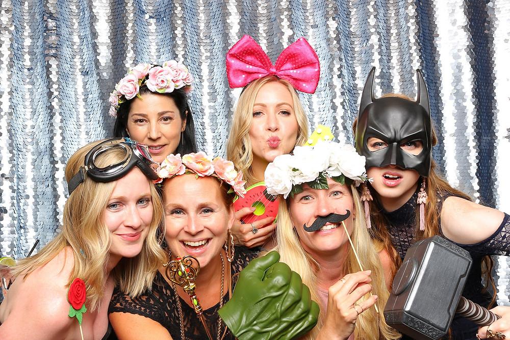 wedding photo booth rental langley girl posse