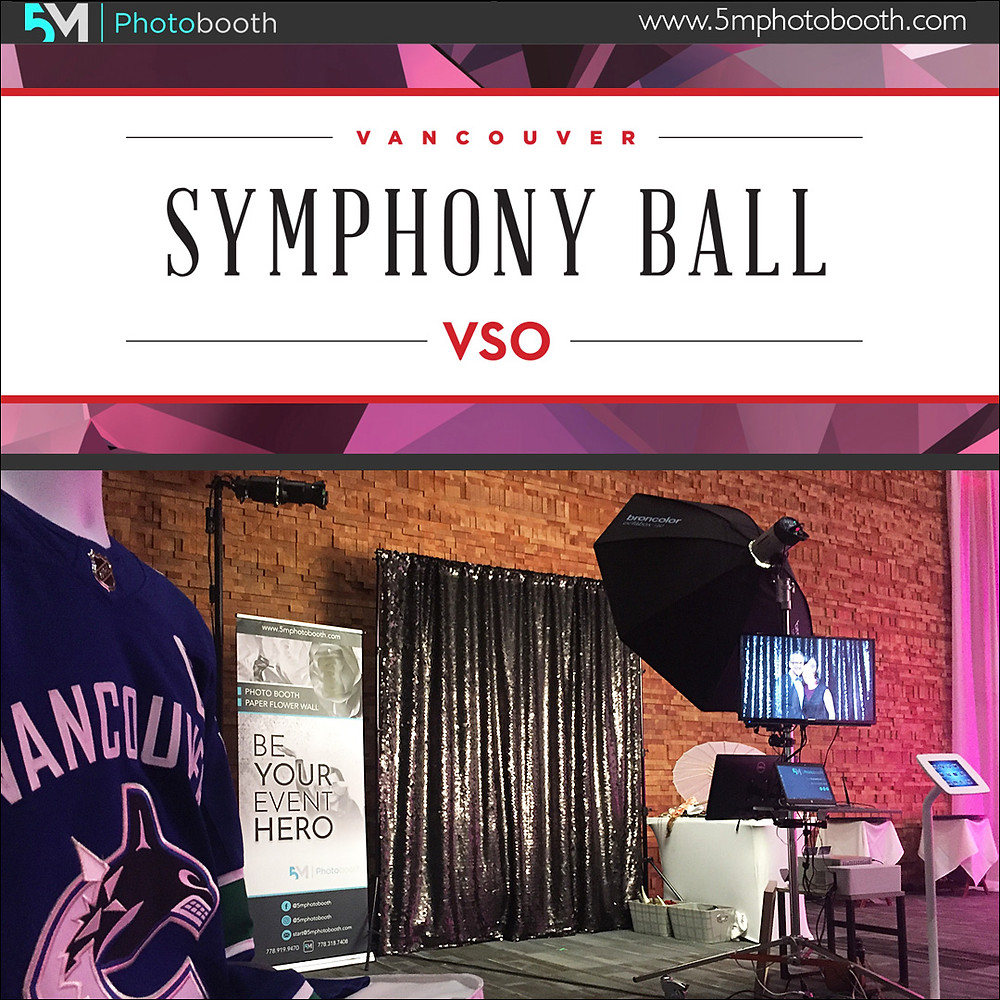 vancouver photo booth vancouver symphony ball