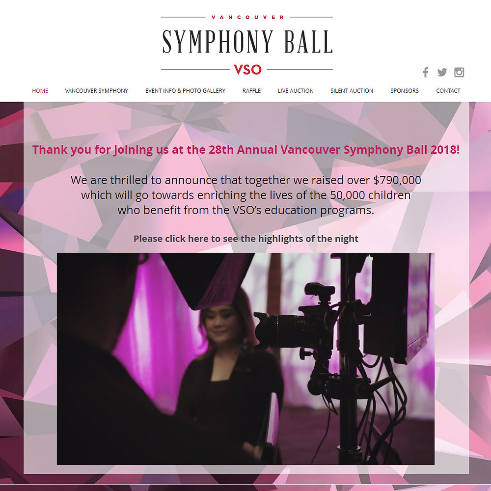 vancouver photo booth symphony ball thank you