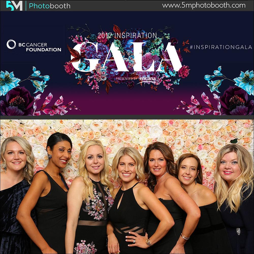 vancouver photo booth rental inspiration gala 2017