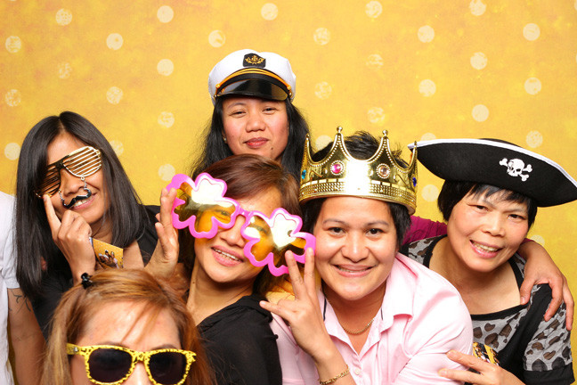 photo booth rental in richmond small group