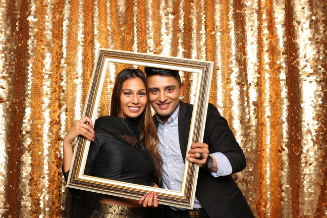 photo booth rental in delta couple