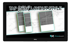 Photo Booth Print Layout Screen