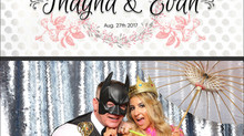 Thayna & Evan's Wedding | Photo Booth Rental Langley