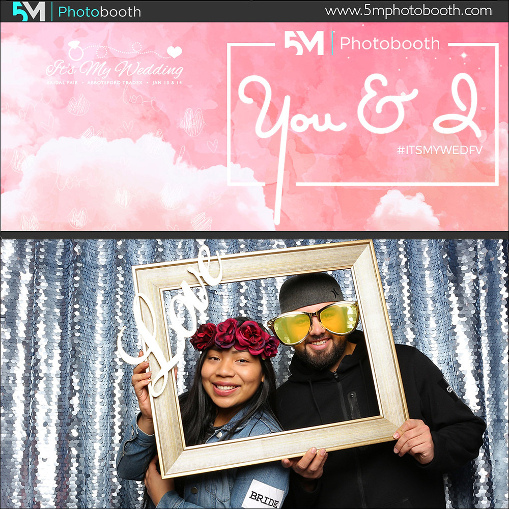 photo booth rental abbotsford it's my wedding show bridal fair