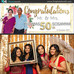 Thomas & Sosamma's 50th Wedding Anniversary | Photo Booth Rental Richmond