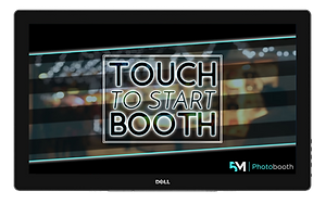 Photo Booth Welcome Screen