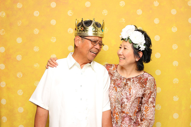 photo booth rental in richmond couple