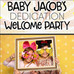 Baby Jacob's Dedication Welcome Party | Photo Booth Rental Richmond