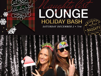 Naughty List Lounge Holiday Bash | Vancouver Photo Booth Rental