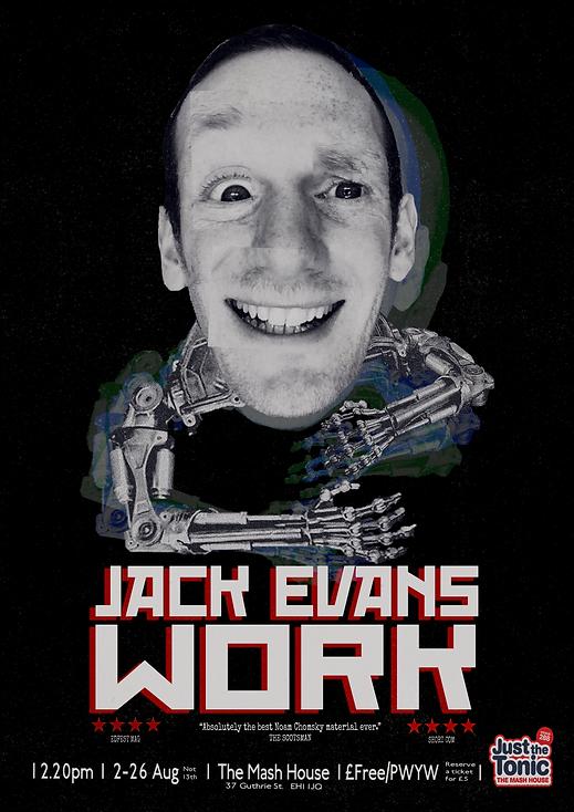 Jack Evans Work Poster