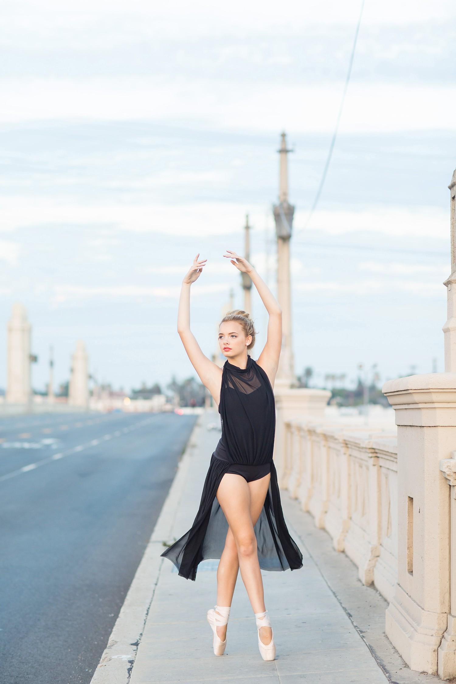 Dancer Senior Pictures in CA