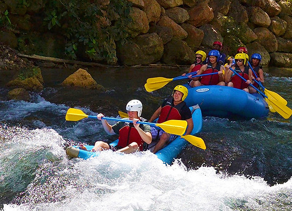 White Water River (Kayaking for 2) on the Rio Bueno FROM FALMOUTH