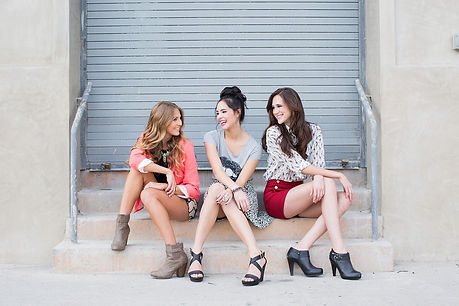 best friend bff portrait session in Los Angeles California