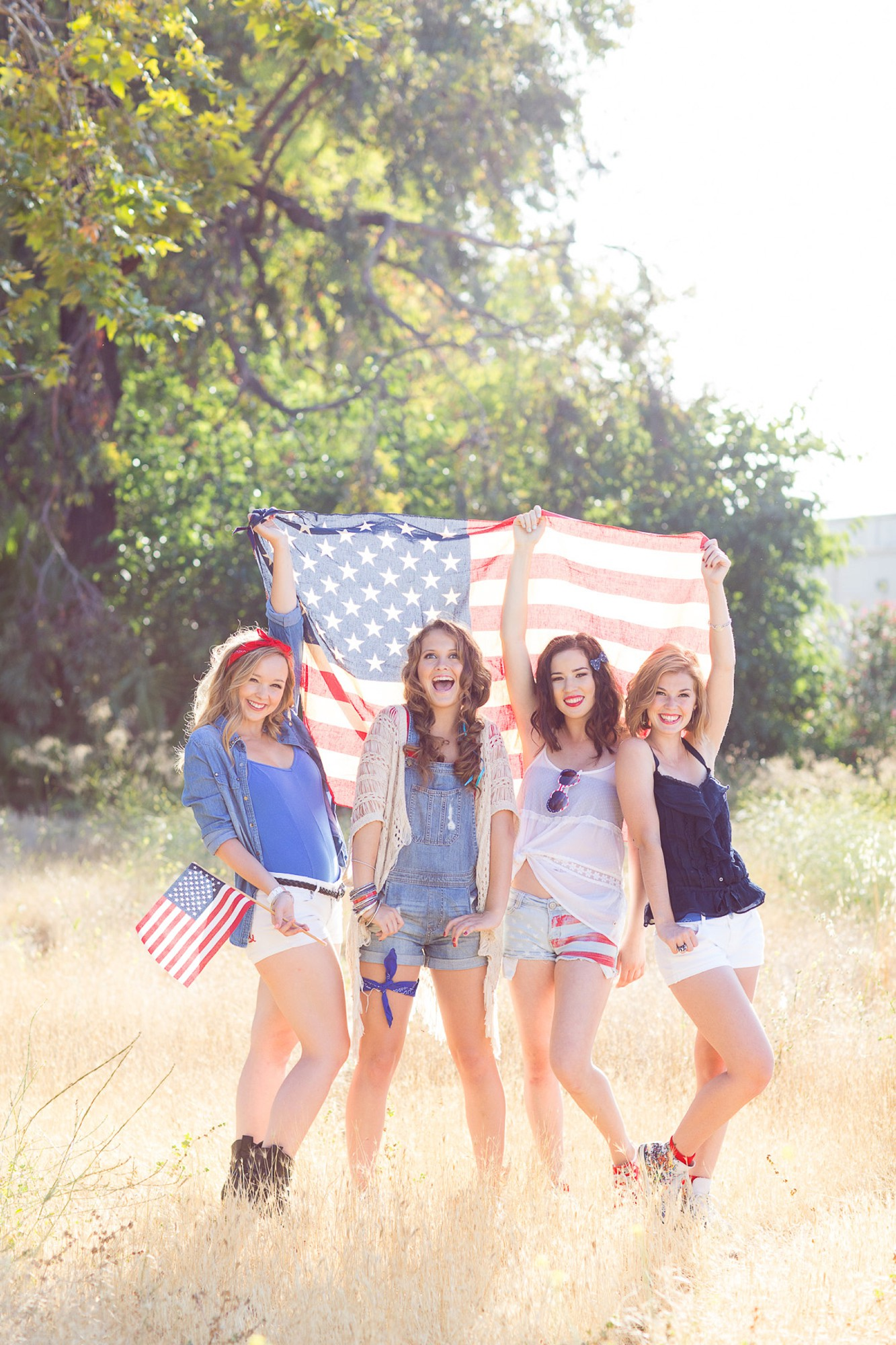 Patriotic Americana Photoshoot