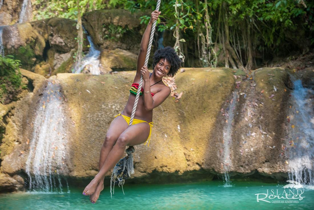 YS FALLS FROM MONTEGO BAY