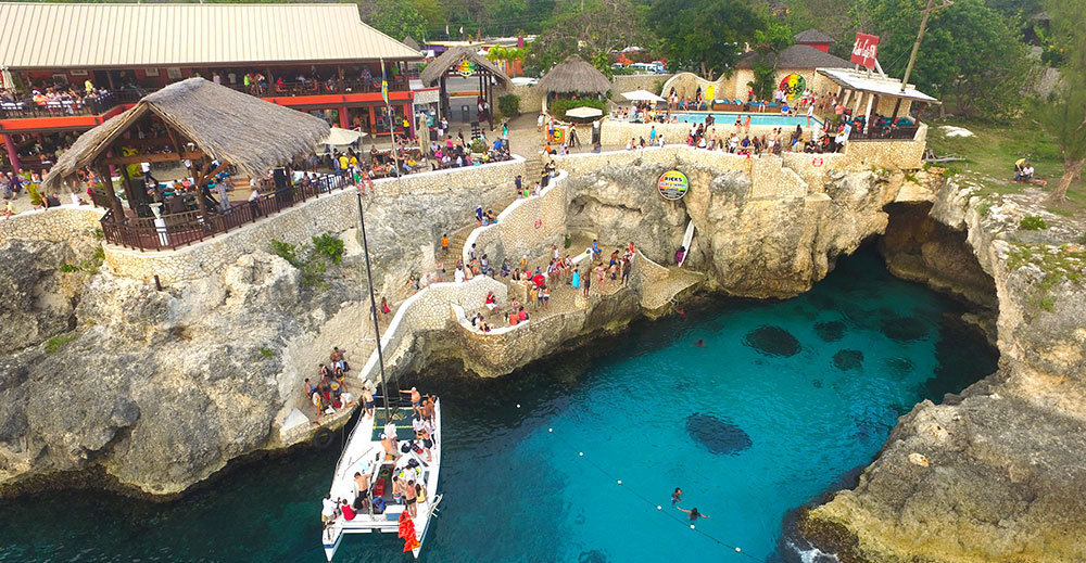 RICK'S CAFE' FROM MONTEGO BAY