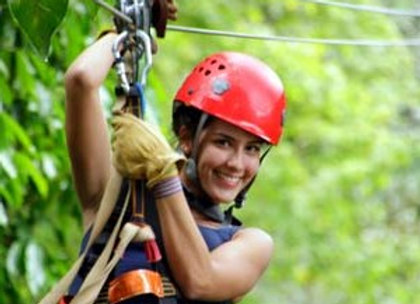 Zipline Canopy and Dunn's River Private Tour FROM MONTEGO BAY