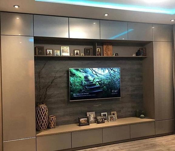 Мебель для гостиной на заказ в Москве от производителя МФМ