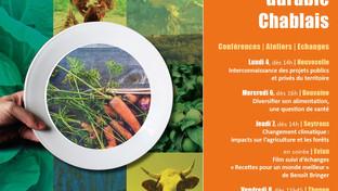 3è édition des Rencontres de l'alimentation durable dans le Chablais