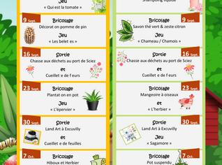 ACCUEIL DE LOISIRS MERCREDIS Sept et Oct