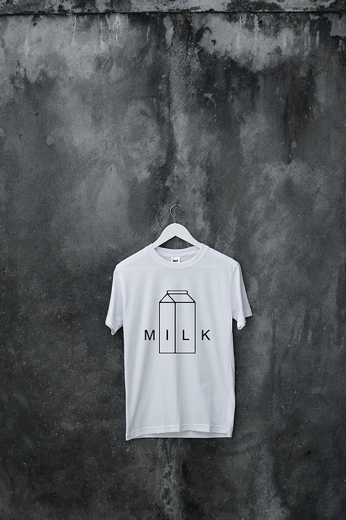 MILK Band T-shirt (White)