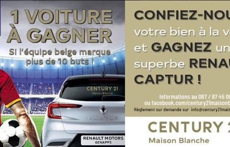 Vendez avec nous et gagnez une Renault Captur!