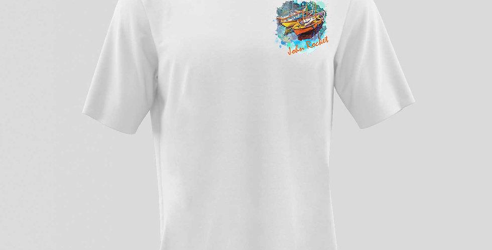 Camiseta 100% Algodão Peletizada JRKT / REF: PR20-34