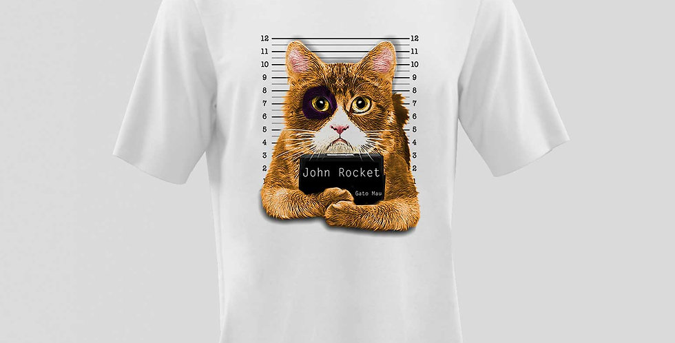 Camiseta 100% Algodão Peletizada JRKT / REF: PR20-30