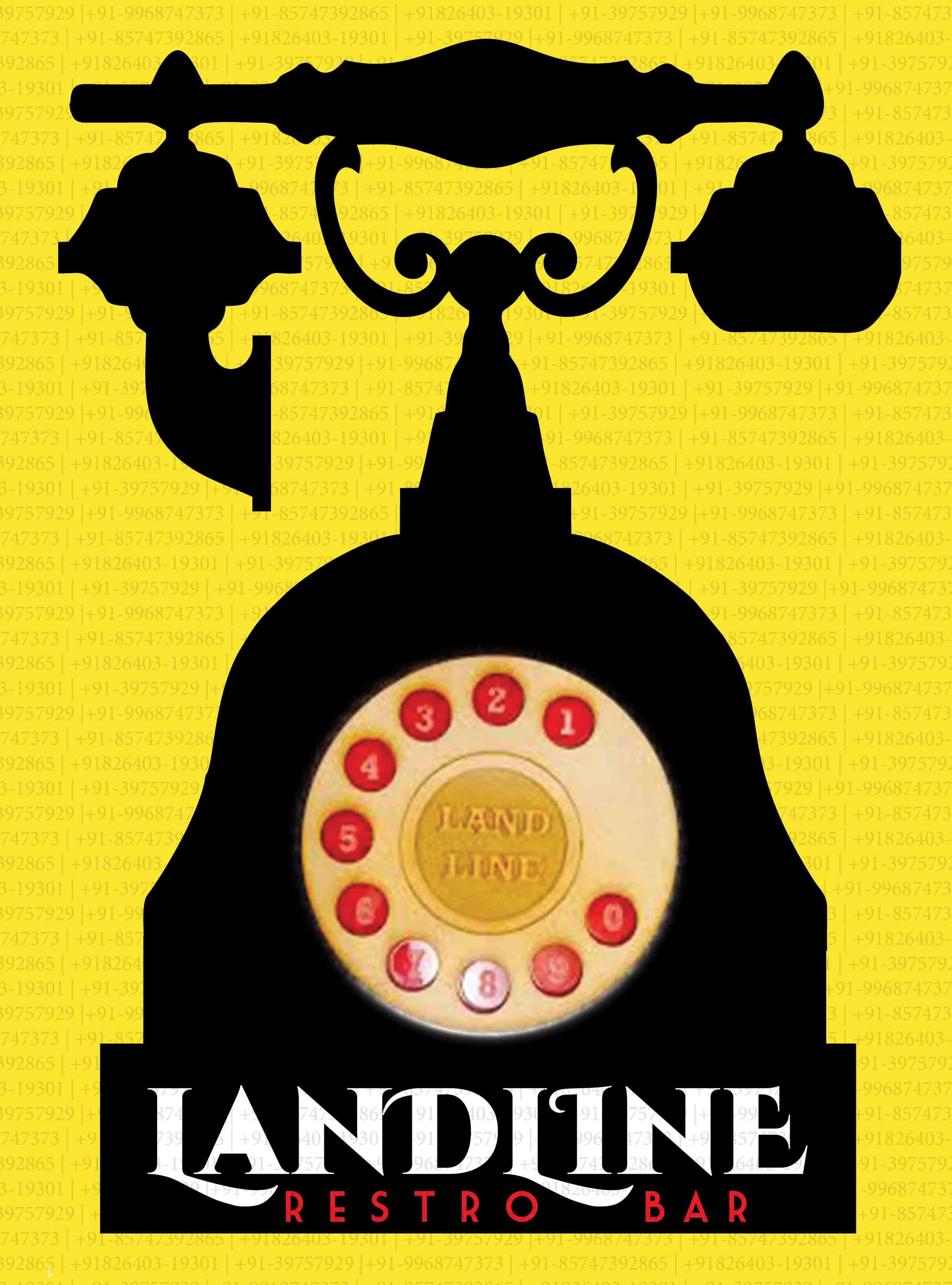 Landline Menu