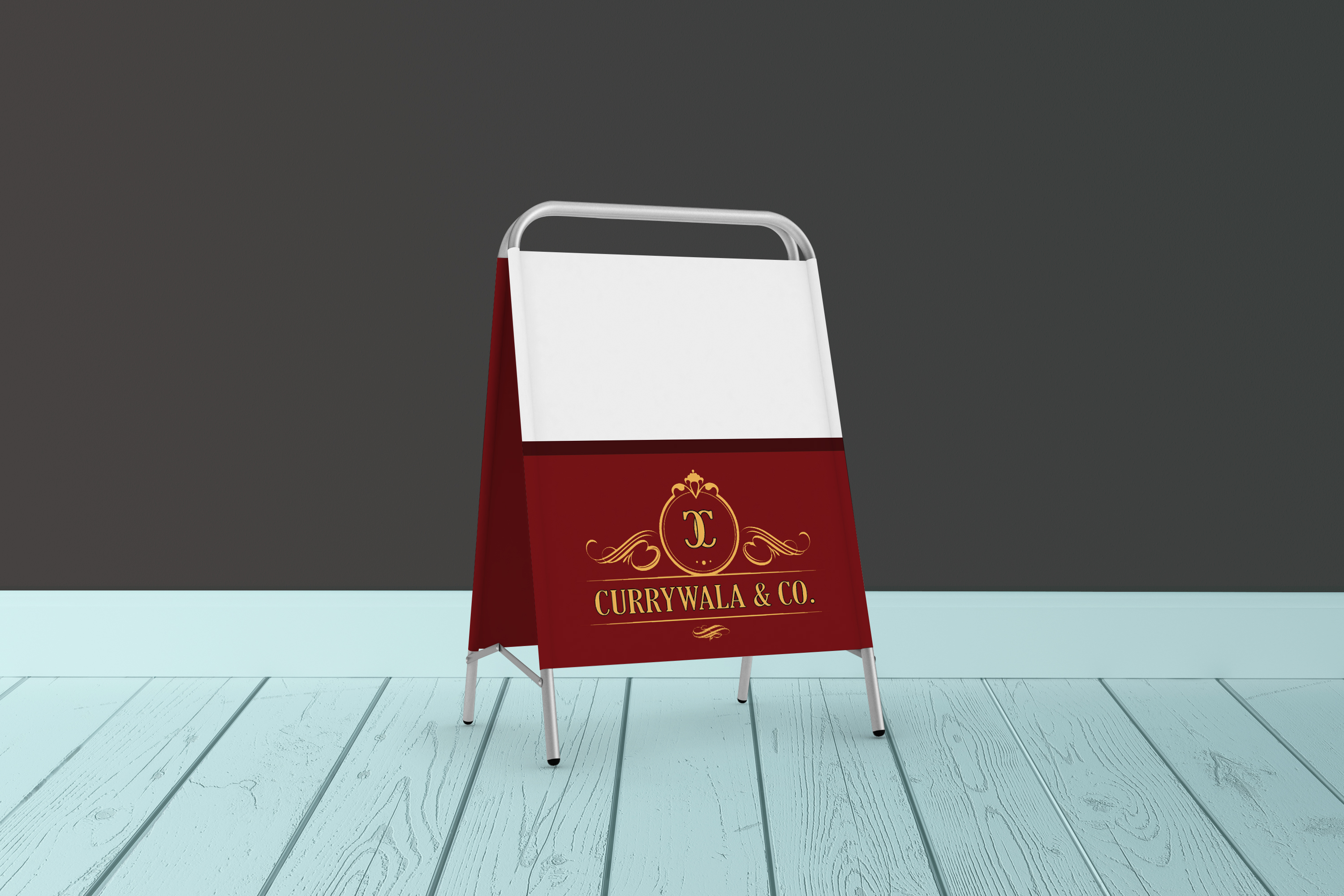 Free Advertising Stand Mockup PSD