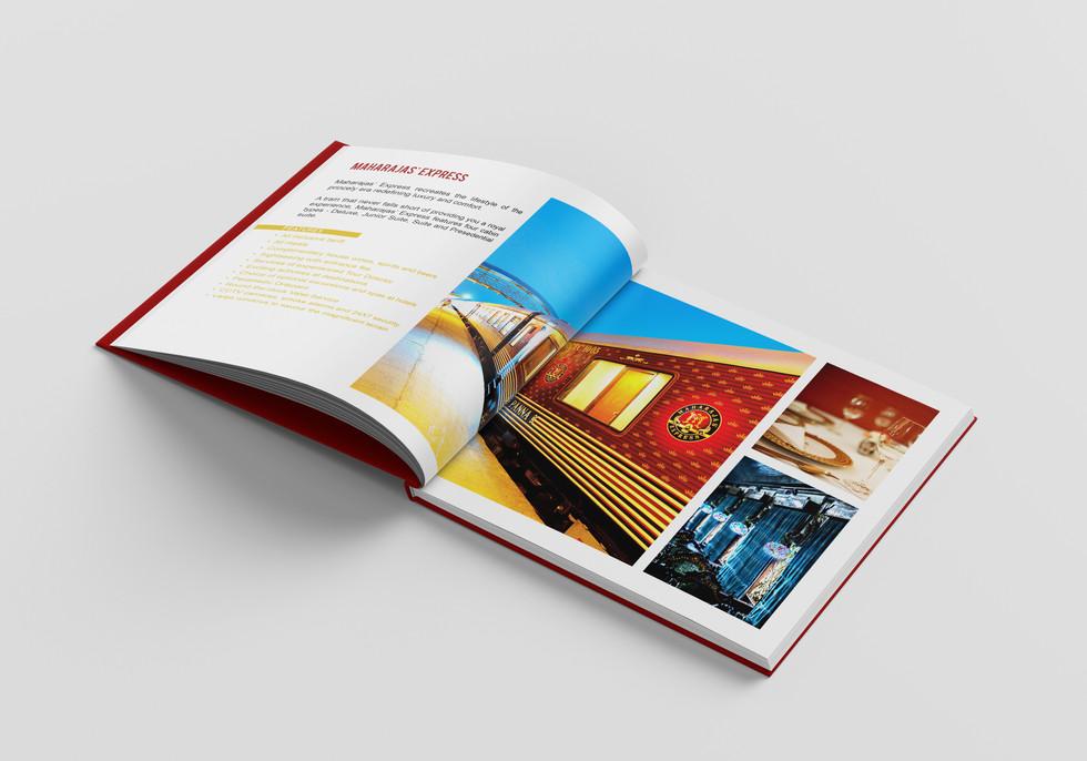 Maharaja Train IRCTC Brochure - COD Studio
