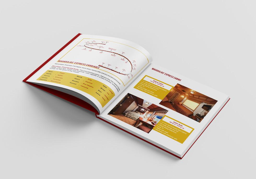 Maharaja Train IRCTC Brochure - Itinerary - COD Studio