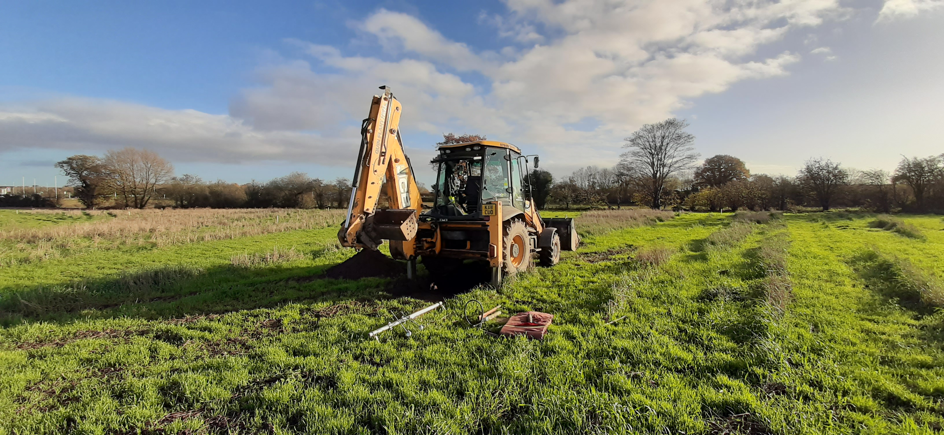 JCB 3CX Site Investigation