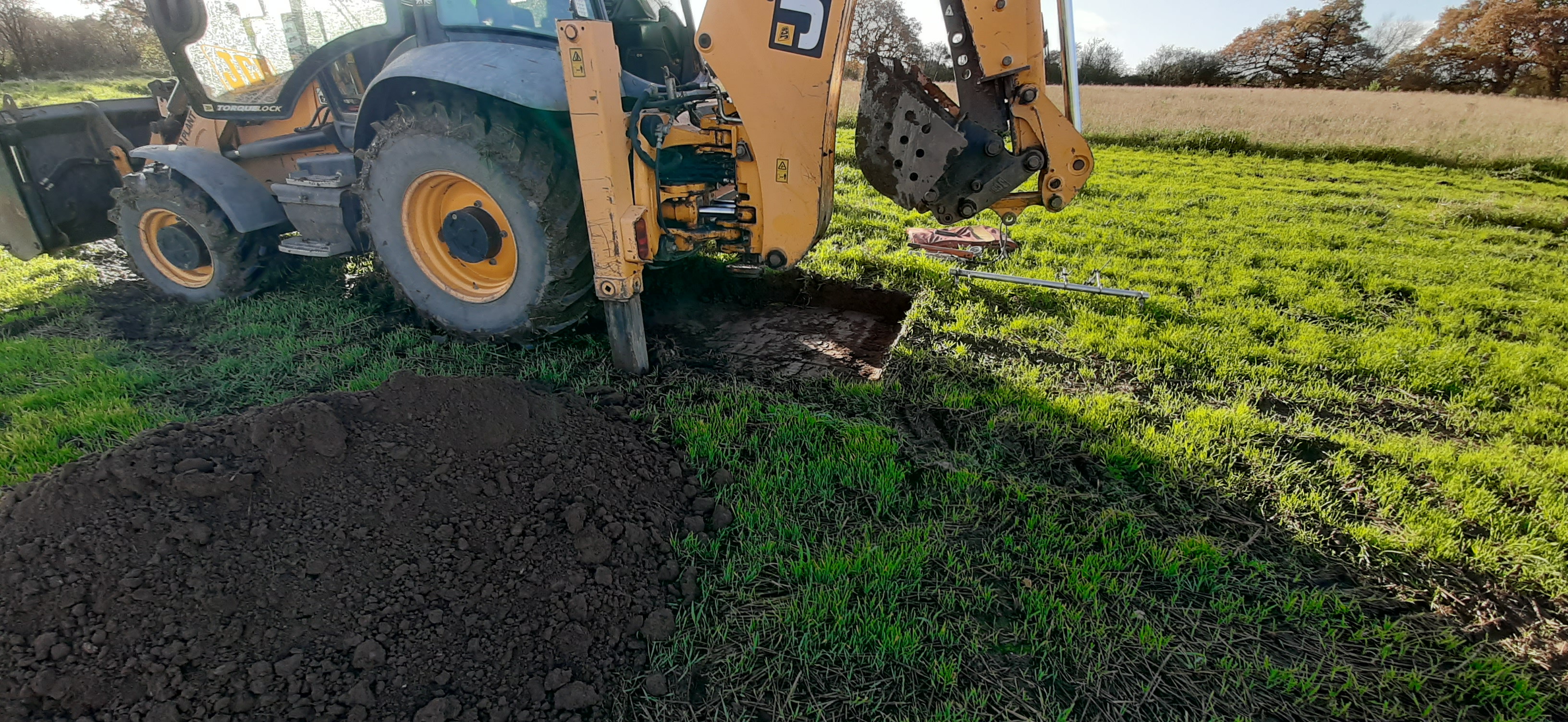 JCB 3CX CBR Tests