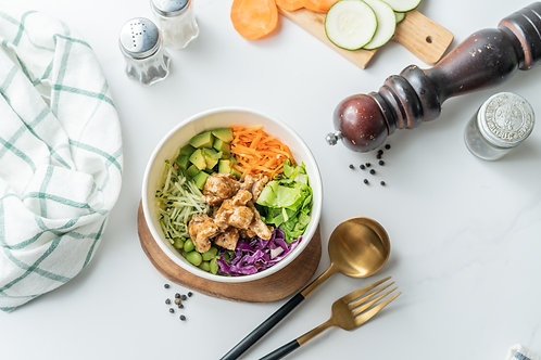 Chicken Poke Bowl Premium